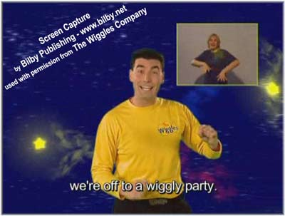 The wiggles with the help of an auslan australian sign language