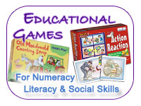 Educational Games : For Numeracy, Literacy and Social Skills