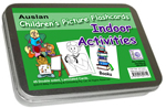 Auslan Childrens Flash Cards 1 - Indoor Activities and Games