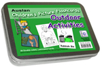 Auslan Childrens Flash Cards 1 - Outdoor Activities and Games