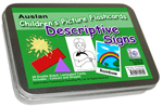 Auslan Childrens Flash Cards 1 - Descriptive Signs