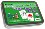 Auslan Childrens Flash Cards 1 - Places, People and Family