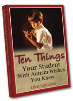 10 Things Your Student With Autism - Cover