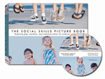 The Social Skills Picture Book (for young children) Book and CDROM set