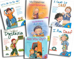 Disability Awareness Set (7 Books : I am Shy, My Friend has Down Syndrome, My Brother Is Autistic, I am Deaf, It is called Dyslexia, I Cant Sit Still, Its OK to be ME!)