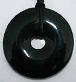 Chew Necklace : Onyx (black)