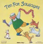 Ten Fat Sausages - Board Book - by Childs Play