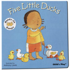 5 Little Ducks - Board Book - AUSLAN EDITION