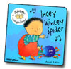 Incey Wincey Spider - Baby Sign Board Book - AUSLAN EDITION