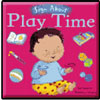 Play Time Board Book (in BSL with auslan insert stickers for the 3 signs that differ)