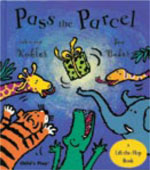 Pass the Parcel - lift a flap book
