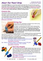 Pencil Grips Flyer