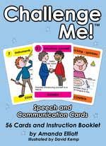 Challenge Me! Speech and Communication Card Kit