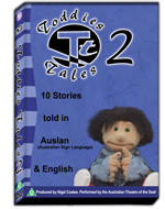 Toddies Tales (DVD) 2 - Auslan stories for Pre-school Children