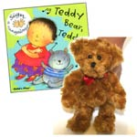 Teddy Bear Book and Walking Puppet